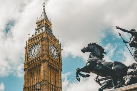 英国伦敦的大本钟