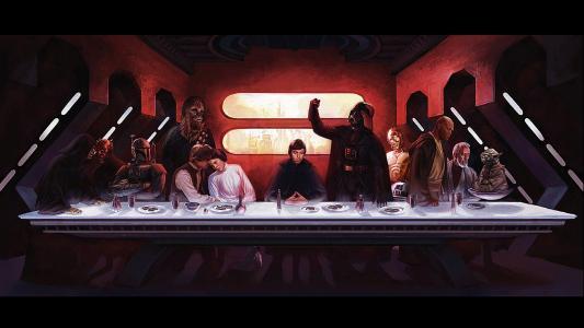 星球大战最后的晚餐高清壁纸