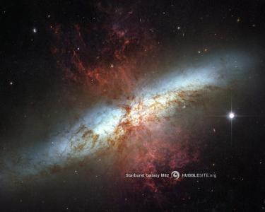 星爆星系壁纸