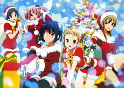 动漫圣诞节壁纸