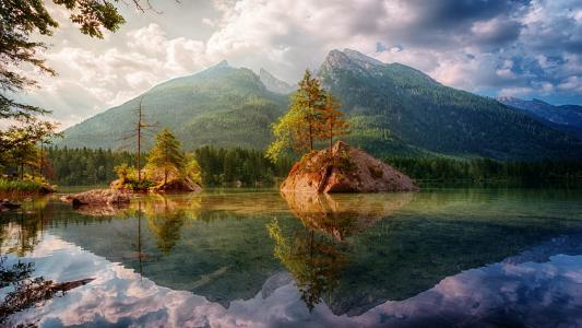 美丽的山水风光