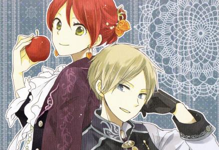 白雪公主与红色的头发壁纸