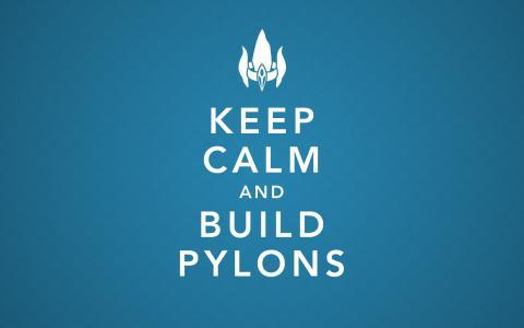 保持冷静,并建立塔壁纸