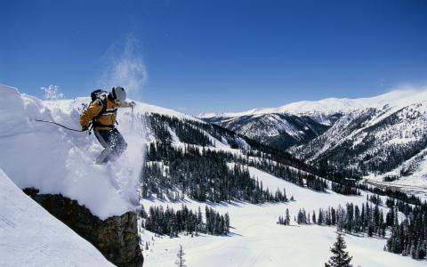 极限滑雪壁纸