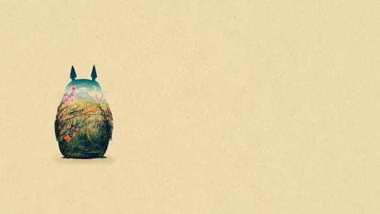 龙猫高清壁纸