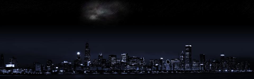 黑暗的城市壁纸