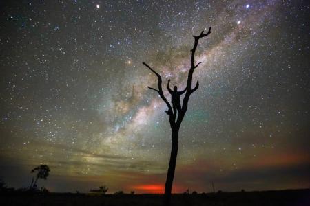 星空的天空壁纸