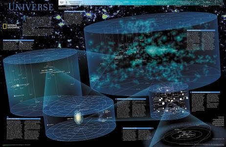 宇宙的信息图表壁纸