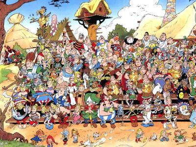 Asterix和Obelix壁纸