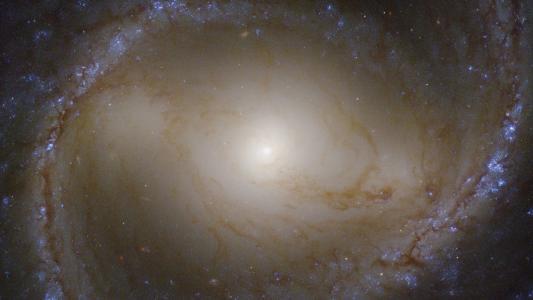太空里的梅西埃91星系