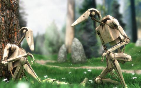战斗机器人壁纸