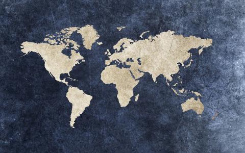 地球地图壁纸