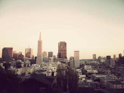 旧金山的城市景观壁纸