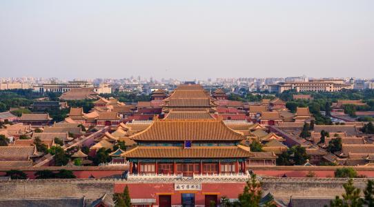 历史悠久的北京故宫