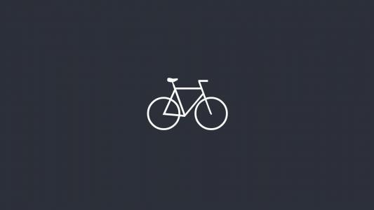 简单自行车高清壁纸
