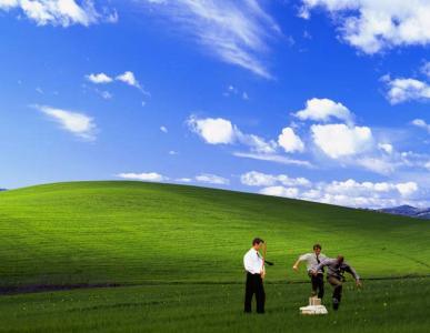 有趣的幸福Windows壁纸