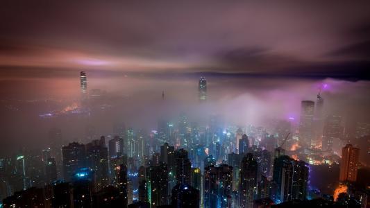 香港城市景观高清壁纸