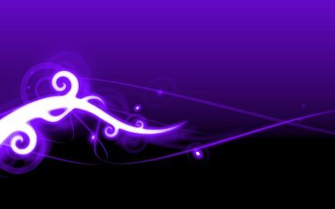 紫色的艺术壁纸