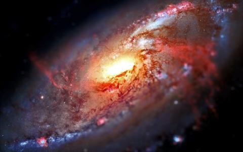 倾斜移动银河壁纸