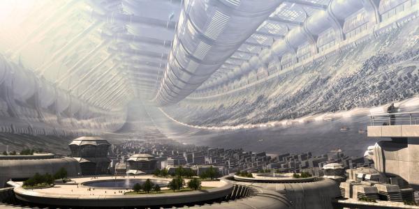 未来城市壁纸