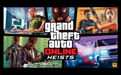 GTA 5 Online Heist壁纸