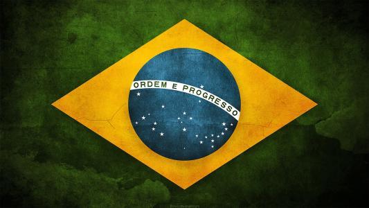 巴西国旗高清壁纸