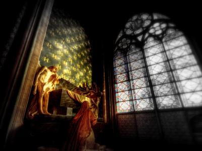 里面的巴黎圣母院壁纸