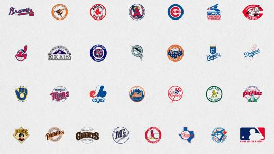 MLB标志高清壁纸