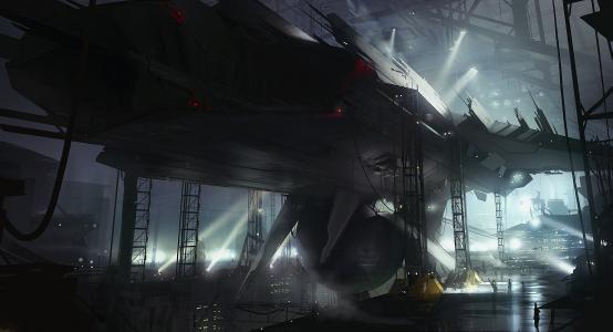 太空飞船壁纸