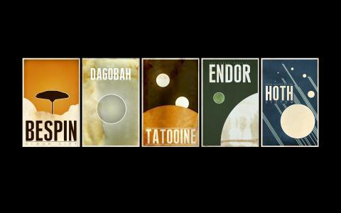 星球大战行星壁纸