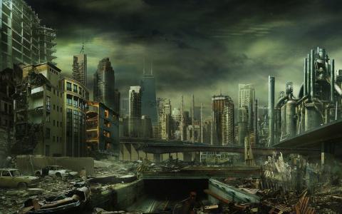 后世界末日壁纸