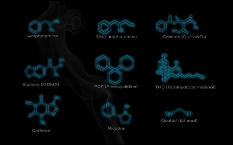 常用药物化学式壁纸