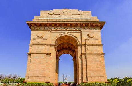 雄伟壮观的印度门