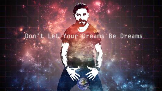 不要让你的梦想成为梦想高清壁纸