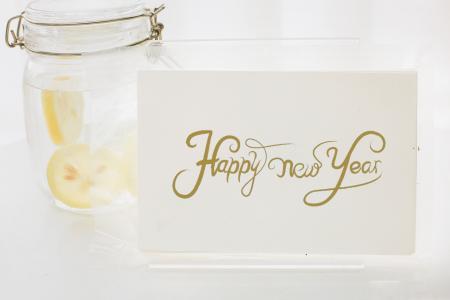 新年快乐英文配图