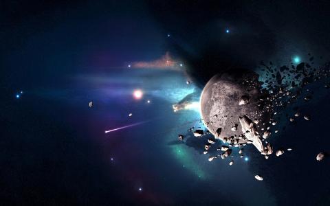 行星破坏壁纸