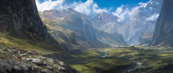 幻想风景壁纸