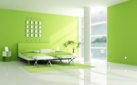 现代家庭室内壁纸