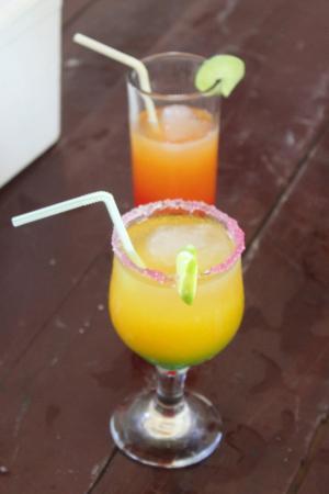夏日美味可口果汁