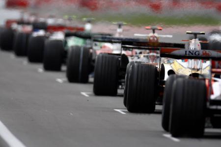 F1起始网格壁纸