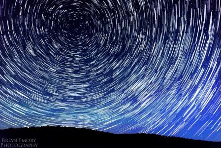 在天空壁纸的星星