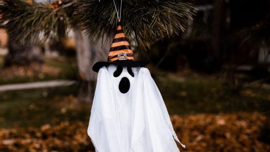 万圣节搞怪幽灵