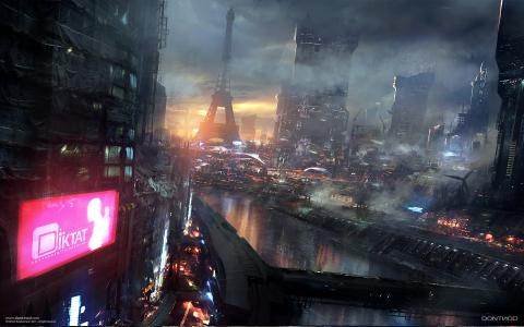 科幻城市壁纸