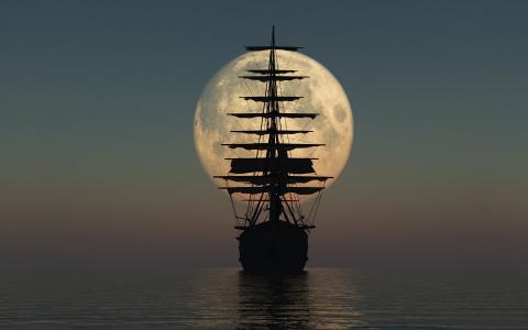 帆船船舶壁纸