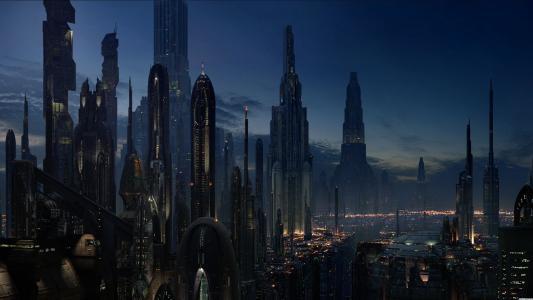 未来城市高清壁纸