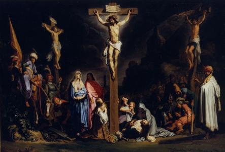 十字架上的耶稣壁纸