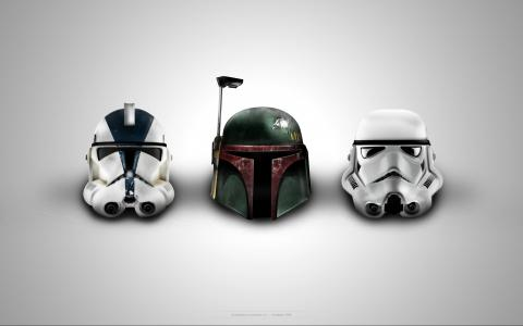 星球大战头盔壁纸