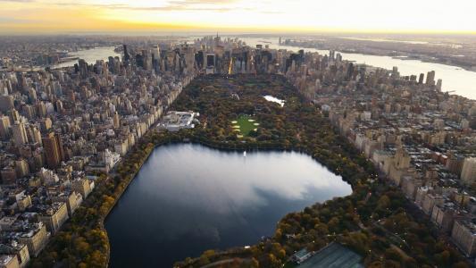 中央公园高清壁纸