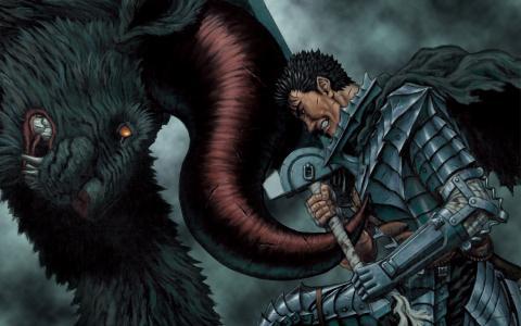 胆量与野兽壁纸作战