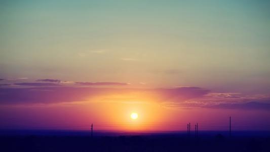 日落高清壁纸